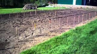 Preparing To Layout The Garden #02 Heirloom Organic Vegetable Garden