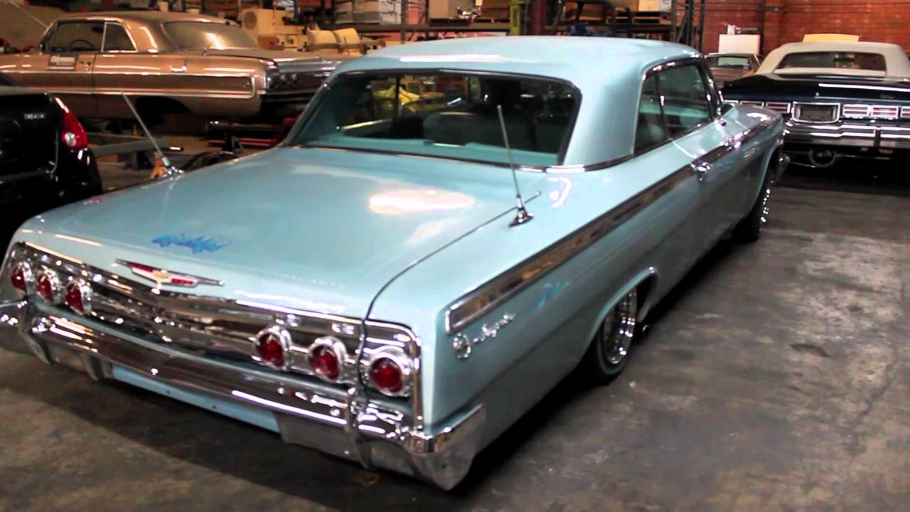 Watch also Remarkablecars   lowriders further Watch besides All Hail The Lowrider Chevrolet Impala Azure Aqua Convertible 1963 additionally Video Viewer. on chevy impala on daytons