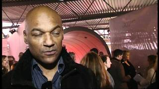 Colin Salmon at Bond Car Exhibition