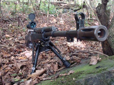 SKS Simonov Sniper Recenze