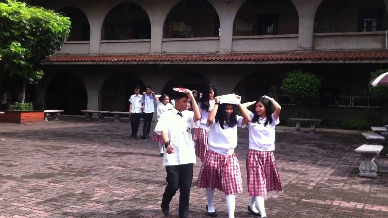 #MMShakeDrill2016 in Siena College Quezon City PART 1 (6 ...