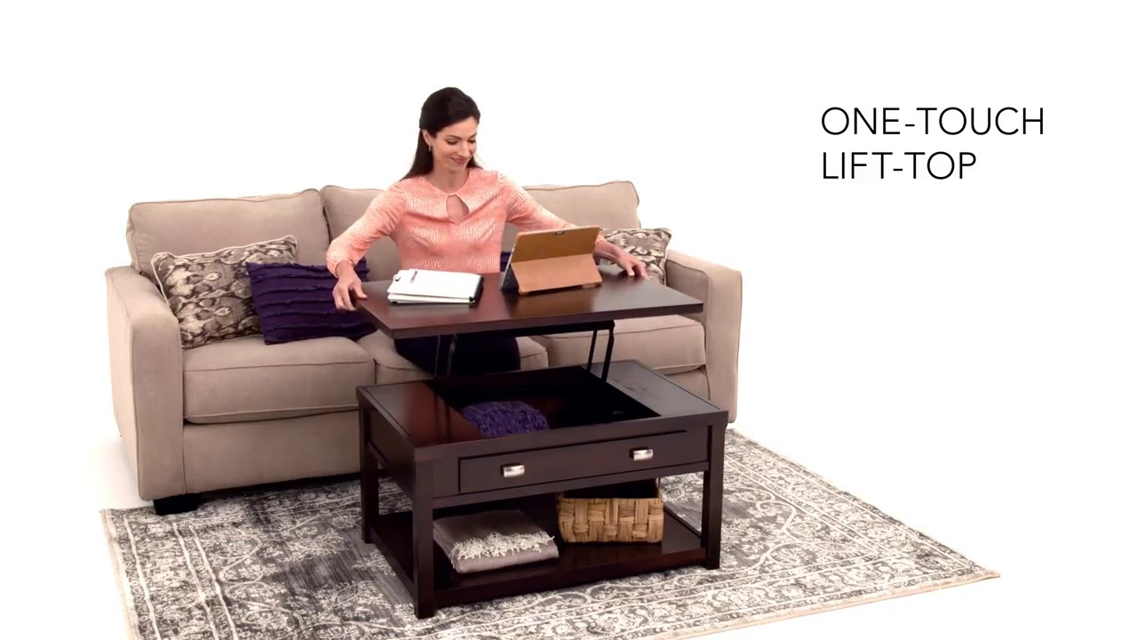 Hatsuko Lift Top Tail Table From Ashley