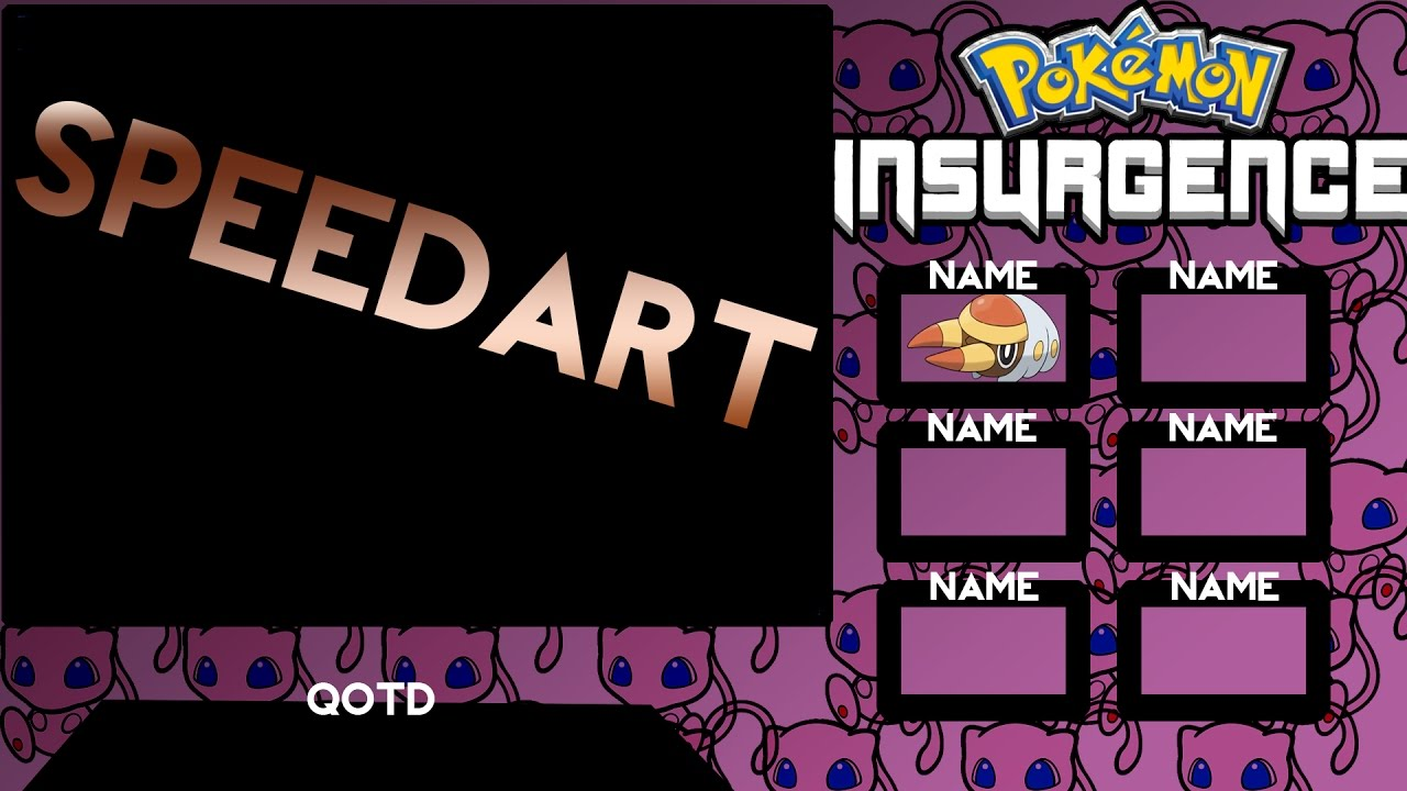 Pokemon Insurgence Layout Speedart Download Youtube