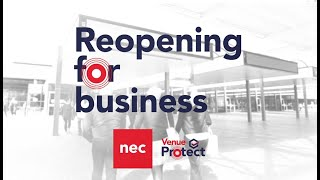 NEC Venue Protect: Reopening For Business