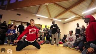 Ruslans (Rusya Jam Crew) vs T'Law (Burst Limit) | 1/8 final Newstyle | JFB Battle ZON'A'RISK 2013