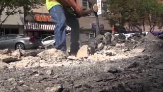 """City of Topeka """"Kansas Ave Digging Up History"""""""