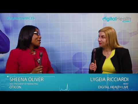Sheena Oliver  @ 2018 Digital Health & Fitness LIVE