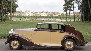 1947 Rolls-Royce Silver Wraith bodied by Freestone&Webb
