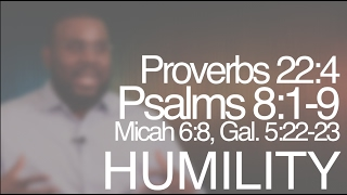 Recap: Part 4_Overcomer's Legacy: Character_Humility_Pastor Geremy Dixon
