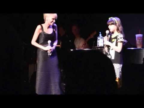 Olivia Petti age 8 and Kristin Chenoweth