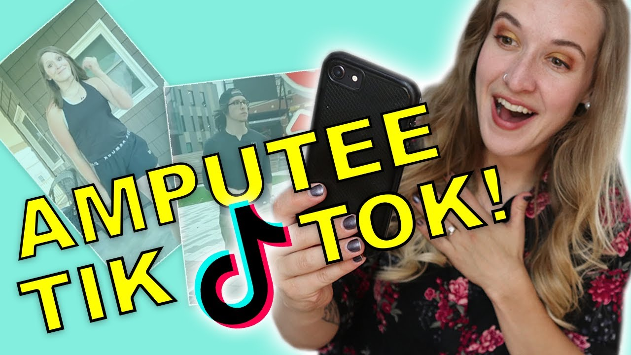 Amputee Reacts to AMPUTEE Tik Tok! 😆 Are These Jokes Okay??