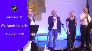 Gudstjeneste fra Frelsesarmeen Drammen