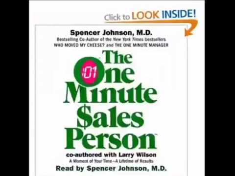 The One Minute Sales Person  by Spencer Johnson Audiobook