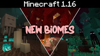Minecraft 1.16 - Nether Biomes, New Blocks, Netherite Armor and Tools
