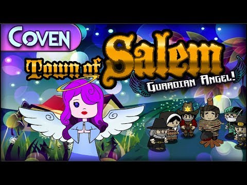 Town of Salem (Guardian Angel Game) | HALO AGAIN COVEN! w/ Wahooz & TwoPercentSkimm