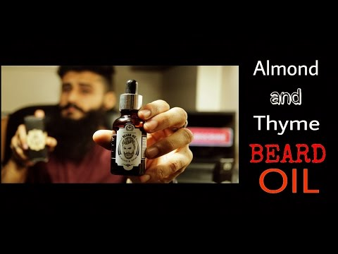Almond and Thyme Beard oil | The Man Company (Hindi/English) | Review