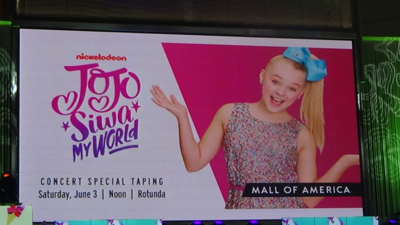 Jojo Siwa At Mall Of America Youtube