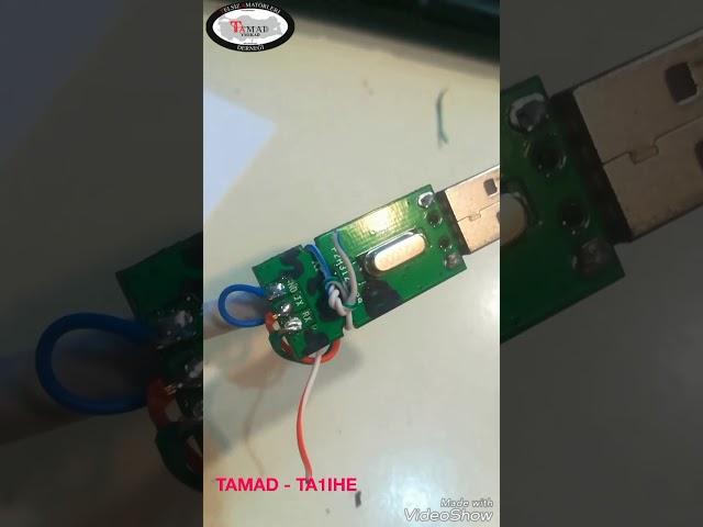 Baofeng T1 program kablo yap?m? ve programlama