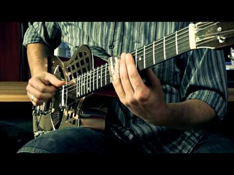 Slide-Blues - Johnson JM994E Resonator Guitar played by Andreas Schulz