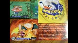 Pokemon SAMPLE Portfolio + UNUSED Base/Jungle 1st Edition Box Flats -The Charizard Authority-