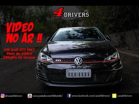 [HD] Volkswagen Golf GTI MK7 de absurdos 400cv | Canal 4Drivers