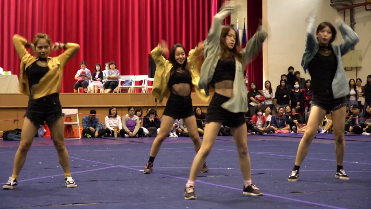 (4K) 2017.11.21中教大教育學院啦啦隊比賽~ 熱舞社表演之3 - YouTube