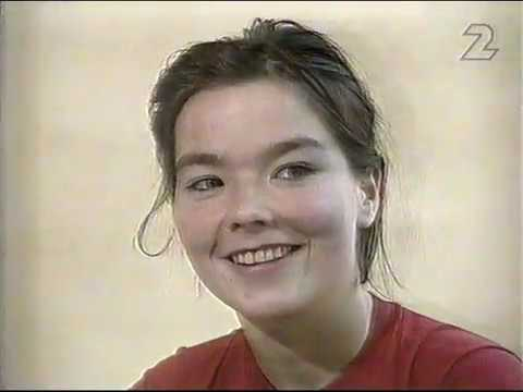 "Björk about her ""sexy video"" Venus As A Boy (SVT Pickup 1993)"