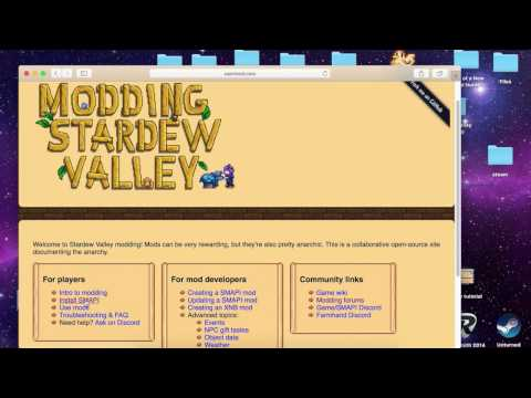 Modding Stardew Valley on Mac Using SMAPI Tutorial (Updated