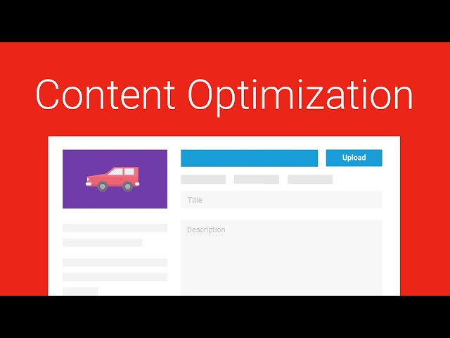 YouTube Playbook for Brands Ep 4/6 - Content Optimization