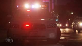 Inquietantes grabaciones captadas por cámaras policiales