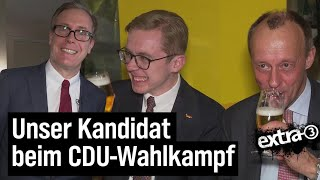 CDU: Unser Kandidat beim Wahlkampf