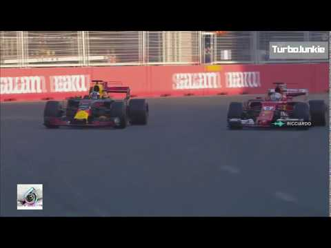 F1 2017 Azerbaijan GP Daniel Ricciardo Winning Team Radio