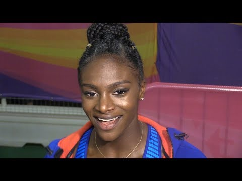 Dina Asher-Smith Interview After Finishing Fourth In 200m At World Championships