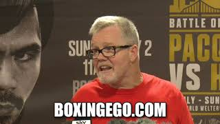 """WILDER VS FURY DRAW: FREDDIE ROACH EXPLAINS """"CANT COMPLAIN"""" LIKE BOXINGEGO TOLD YOU!! 