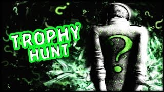 Batman Arkham Knight Riddler Trophy Hunt