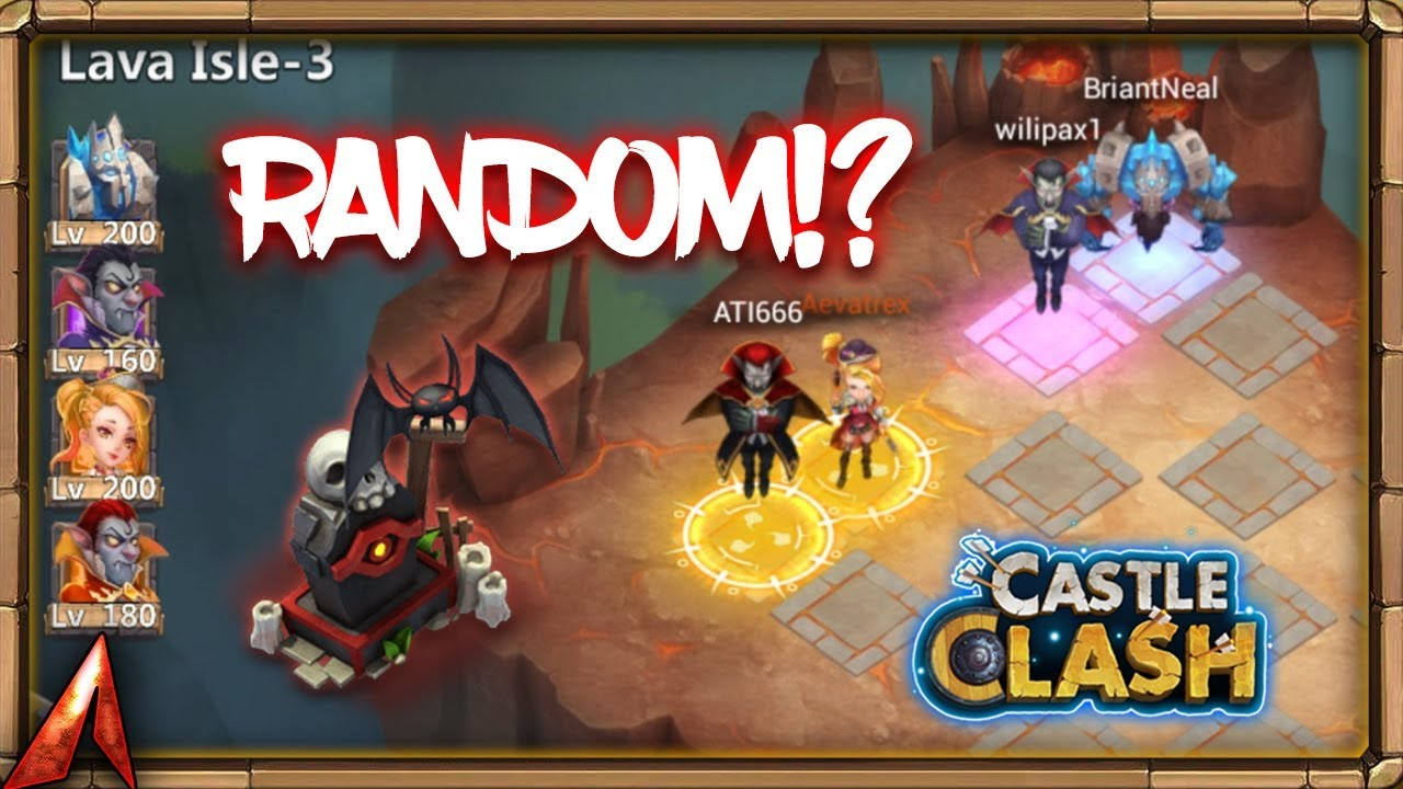 RANDOM LAVA 3 WORTH IT!? Castle Clash