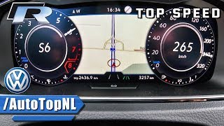 2018 VW Golf R 310HP ACCELERATION & TOP SPEED 0-265km/h by AutoTopNL