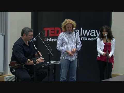 TEDxGalway - Louis de Paor, Ronan Browne, Naisrin Elsafty - And Another Thing...