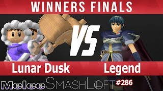 SL SSBM #286 - Lunar Dusk (Ice Climbers) vs Legend (Marth) - Winners Finals