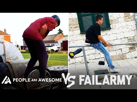 Wins Vs. Fails & More! | People Are Awesome Vs. FailArmy