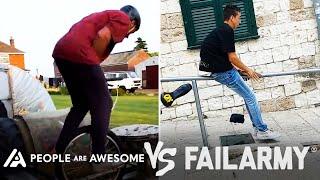 Hard Falling Wins Vs. Fails & More! | People Are Awesome Vs. FailArmy