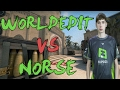 CSGO: POV f3 WorldEdit vs Norse (34/14) mirage @ Hellcase Cup 2