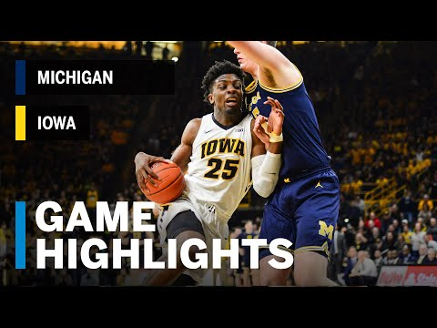 Highlights: Michigan at Iowa | Big Ten Highlights
