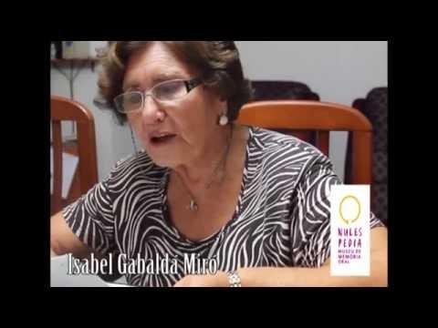 Isabel Gavaldá Miró, Nules-pèdia, Museu de Memòria oral