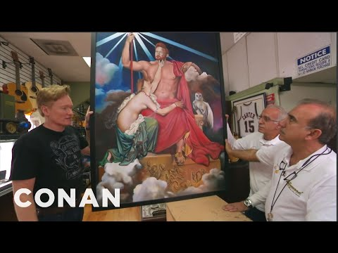 Conan Visits A Pawn Shop