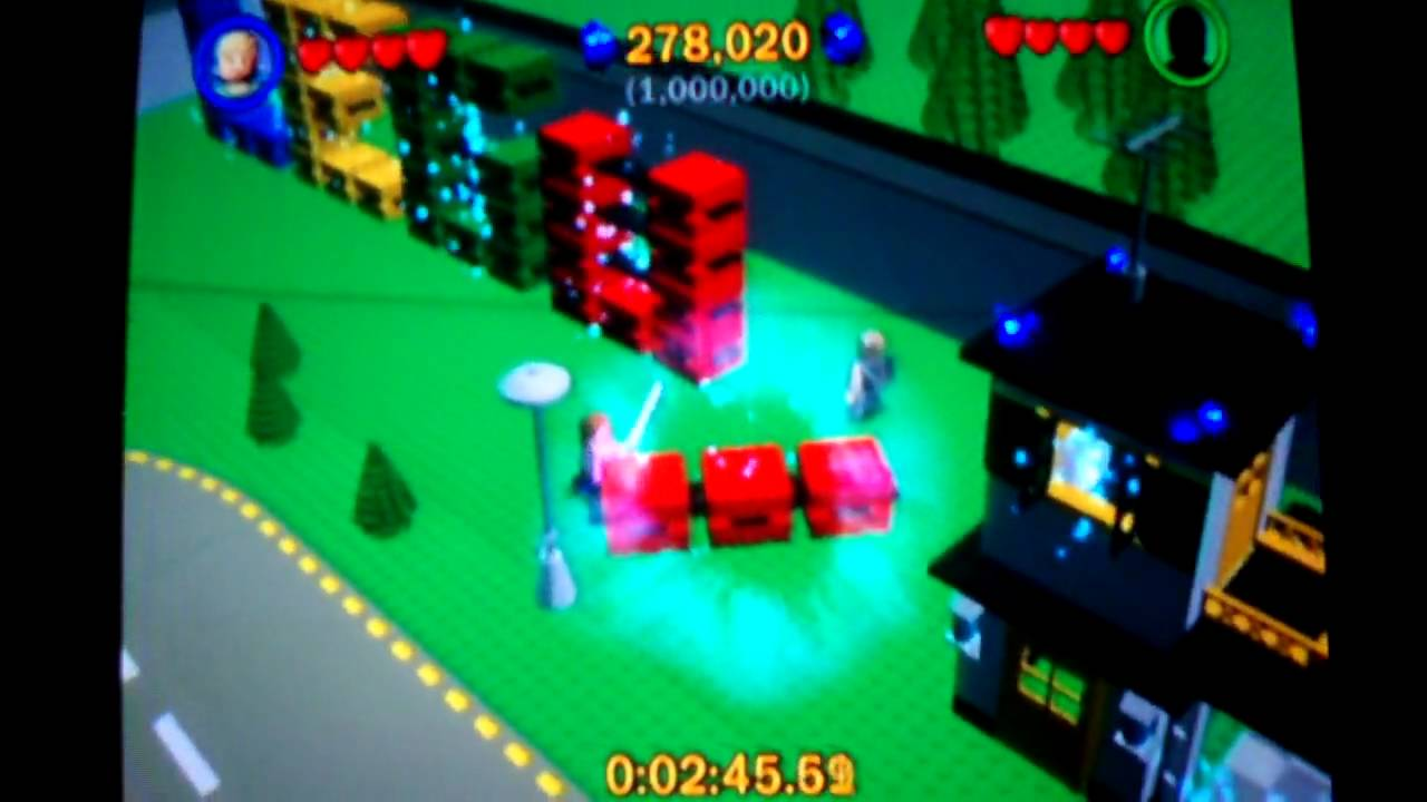 lego star wars: the complete saga walkthrough: lego city p1 - youtube