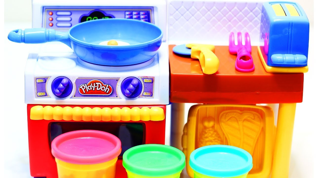 Playdoh Meal Makin Kitchen Unboxing Youtube