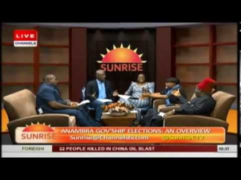 Anambra Election: Chris Ngige, Ifeanyi Uba and Victor Umeh quarrel on TV