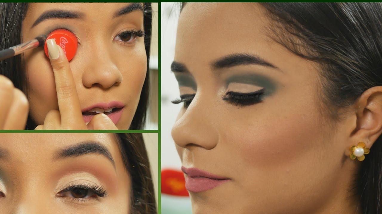 7e905e523 Maquillaje de OjOs Caidos o Pequeños | Trucos que funcionan - YouTube