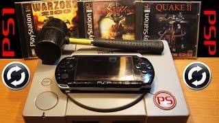 PS ONE на PSP (запускаем игры от старой консоли на ПСП))